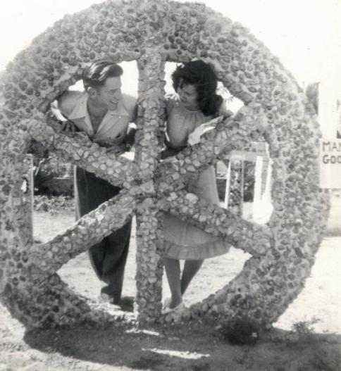AJ and Jean at Ray's Ornamental Garden