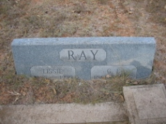 George Ellis Ray's headstone